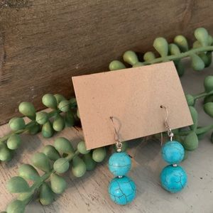 Buy one:get one Turquoise Beaded Earrings